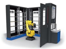 Robo-Shelf Automation