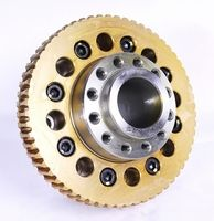 Worm wheel assembly