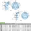 Kitagawa NV32 Vertical Power Chuck Dimensions