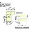TM2100 Dimensions