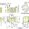 TTM321 / TTSM321 Dimensions
