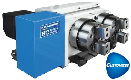 Kitagawa TM2100 Multiple Spindle NC Rotary Table Custom